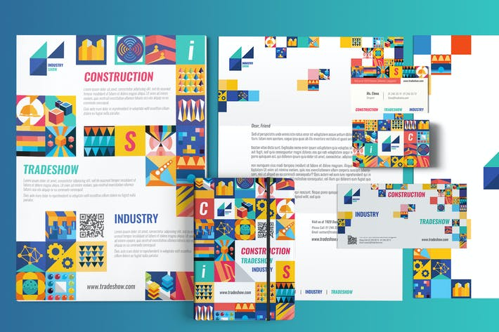 Thumbnail for Industry Show - Print Pack Template