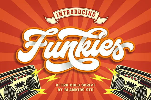 Funkies Bold Script Font - product preview 0