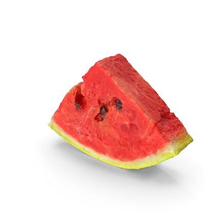 Wassermelone Scheibe Realistisch