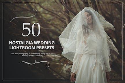 50 Ностальгия Свадебные Пресеты Lightroom