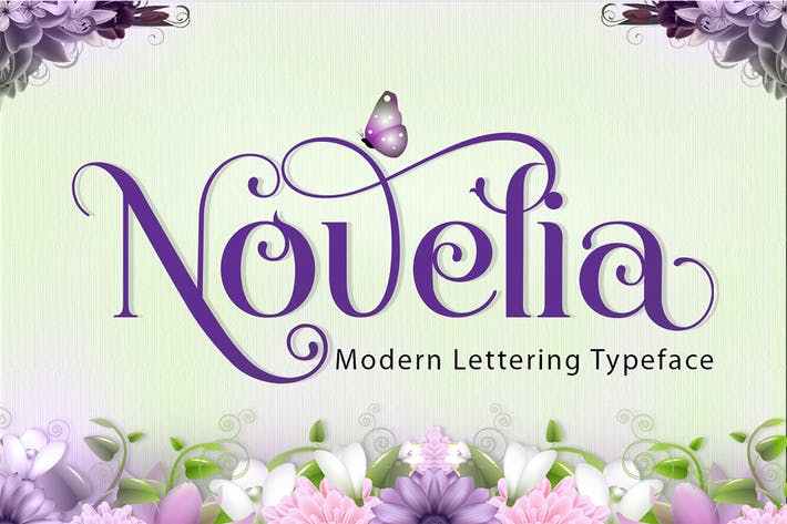 Thumbnail for Novelia Typeface