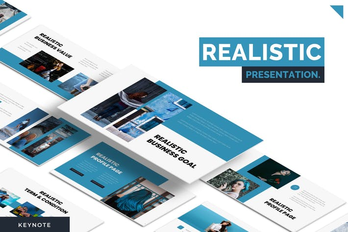 Thumbnail for Realistic - Keynote Template