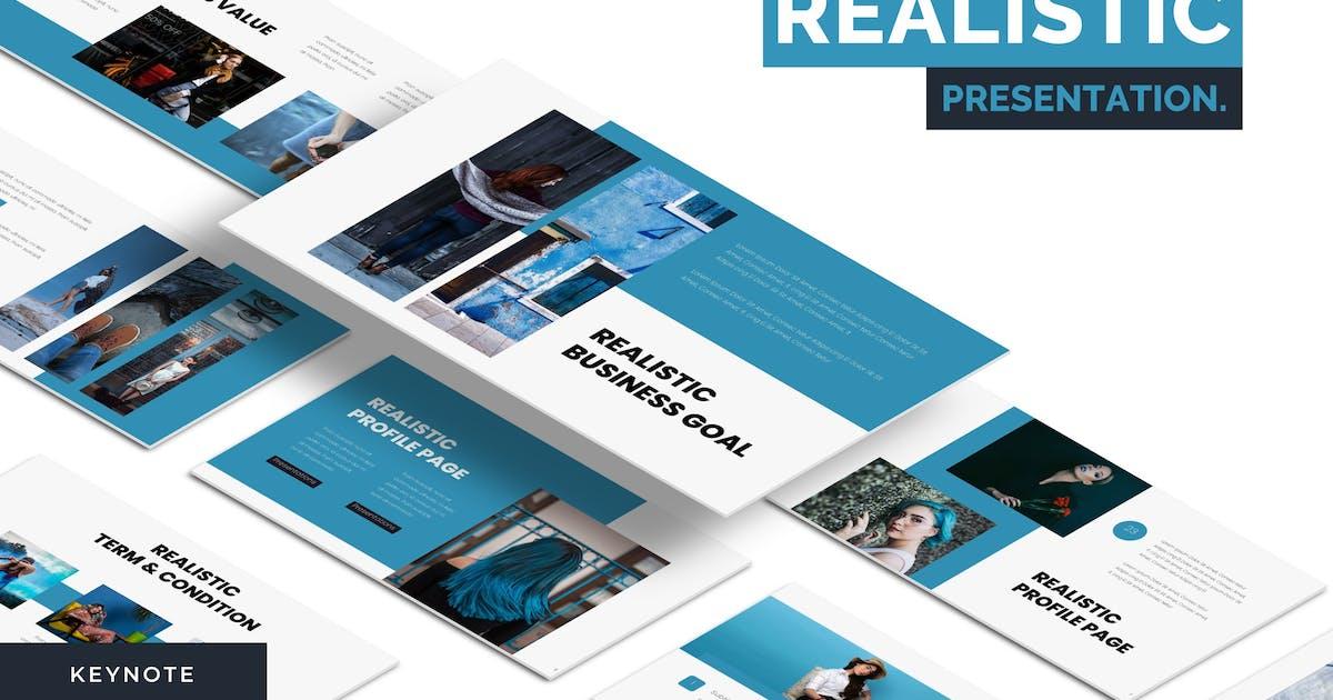 Download Realistic - Keynote Template by karkunstudio