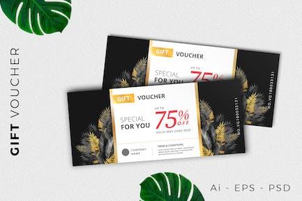 Festival Gift Voucher Card Promotion