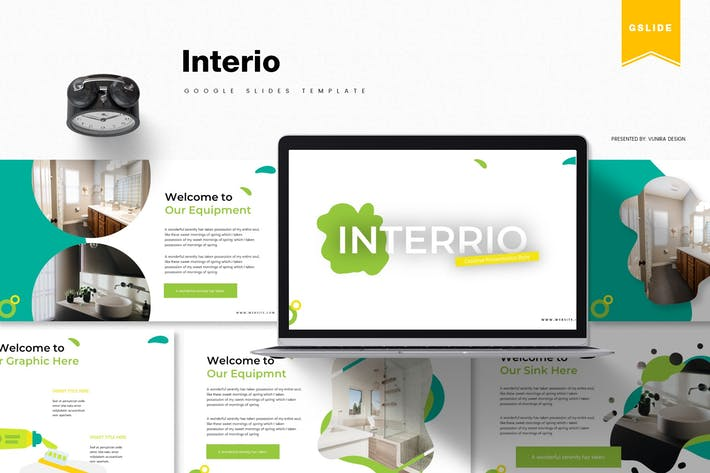 Thumbnail for Interio | Google Slides Template