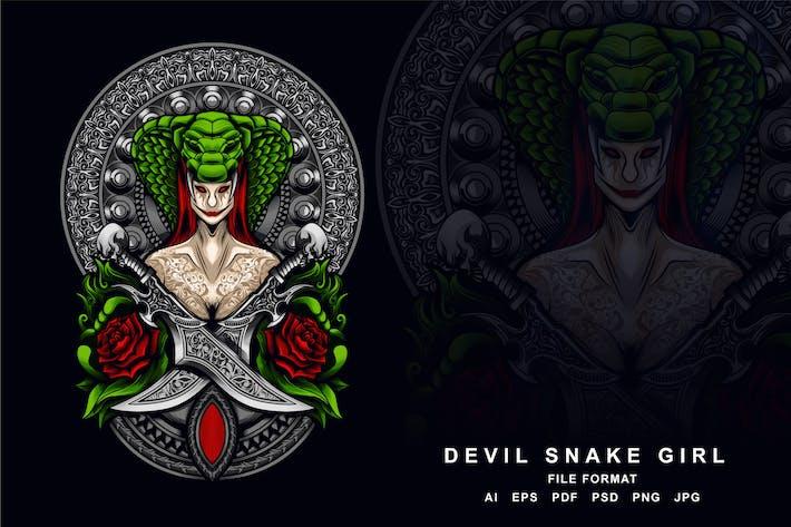 Thumbnail for Devil Snake Girl