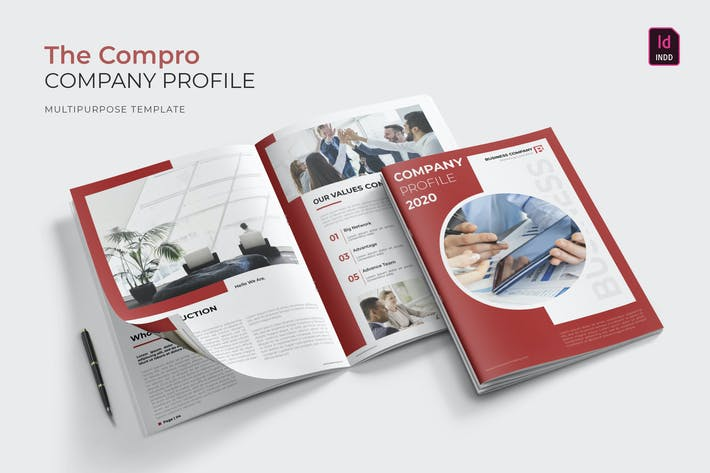 Thumbnail for Business Compro | Company Profile