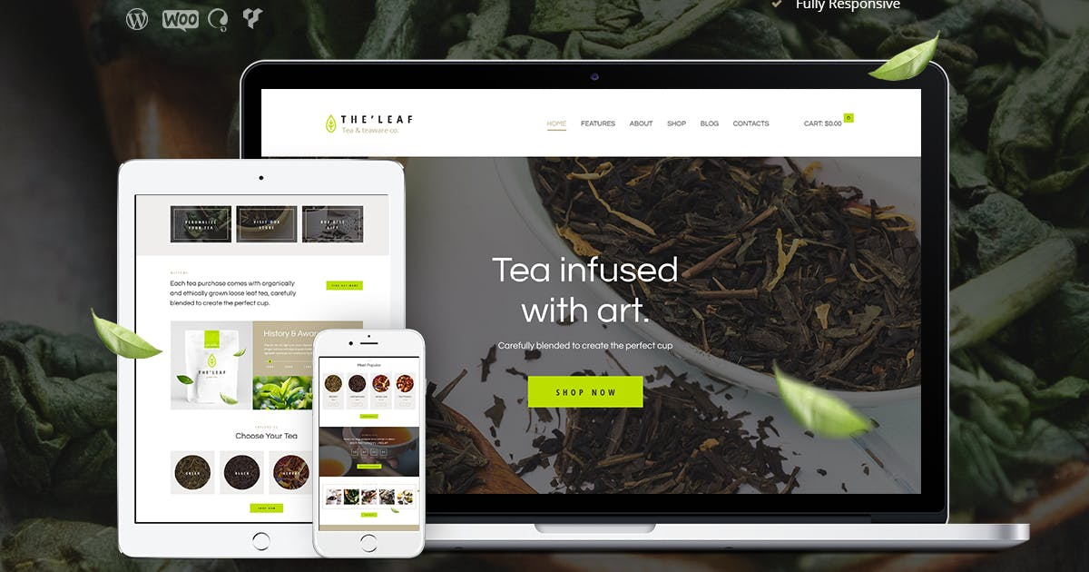 Download TheLeaf - Tea Production Company & Online Coffee by AncoraThemes