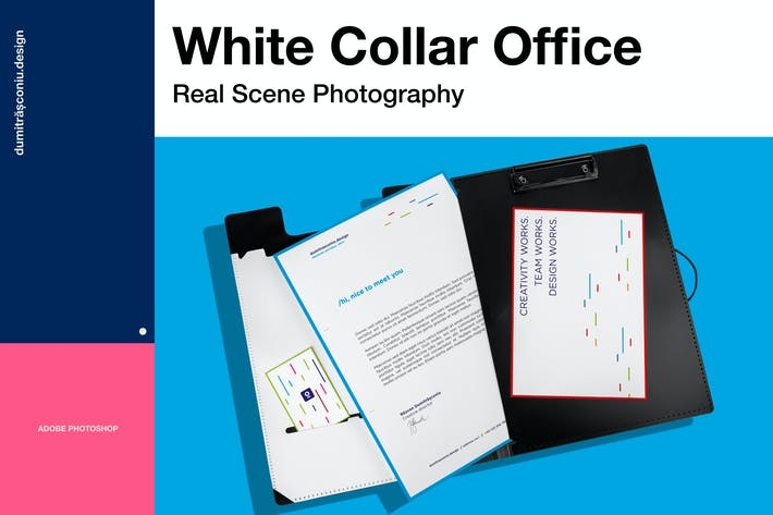 Thumbnail for White Collar Office Mockup