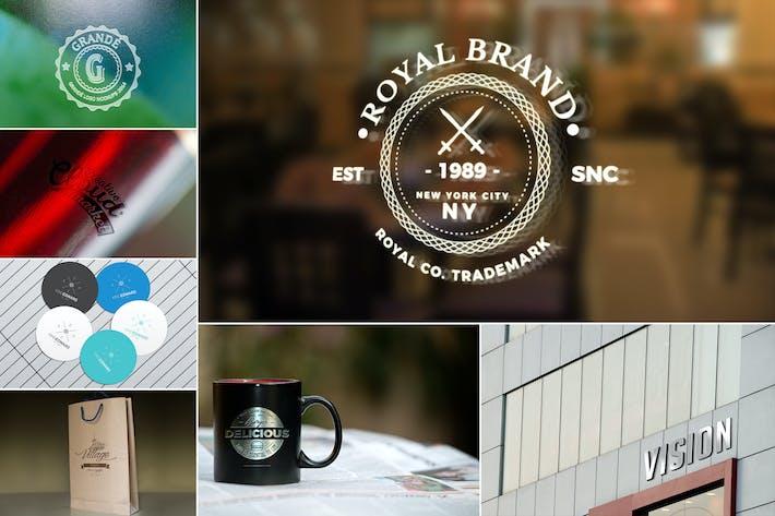 Thumbnail for Brand Identity Logo Mockups