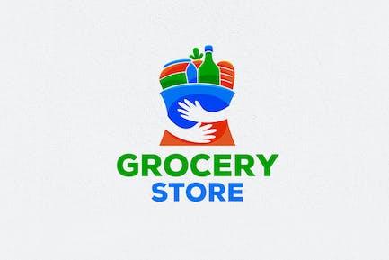 Lebensmittelgeschäft Logo