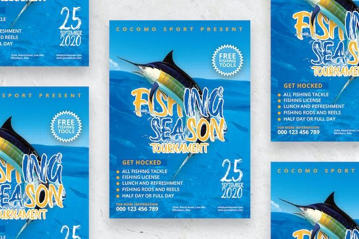 Fishing Season Tournament - Poster