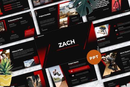 Zach - Extreme Sport Powerpoint Templates