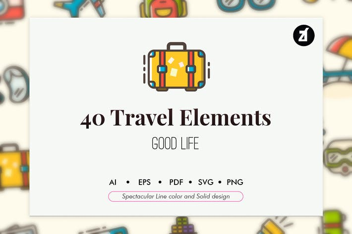 Thumbnail for 40 Travel elements