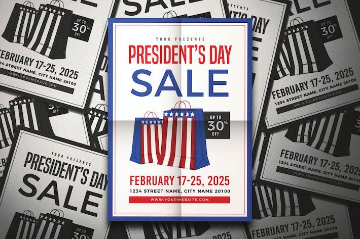 Thumbnail for President's Day Sale Flyer