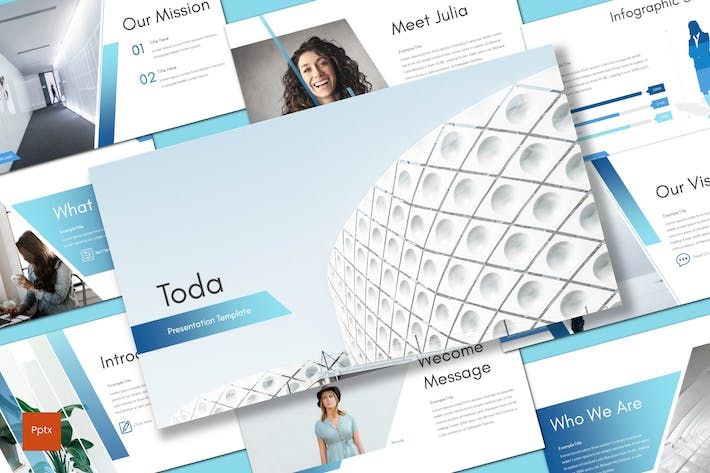 Cover Image For Toda - Powerpoint Template