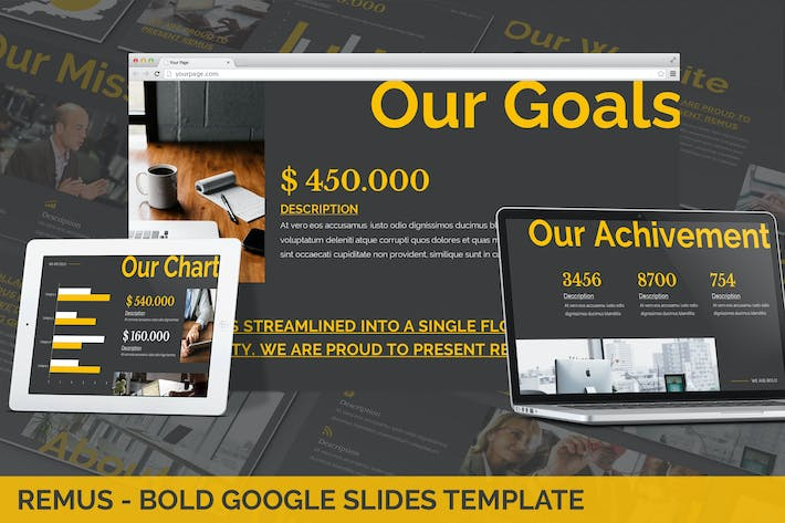 Cover Image For Remus - Bold Google Slides Template