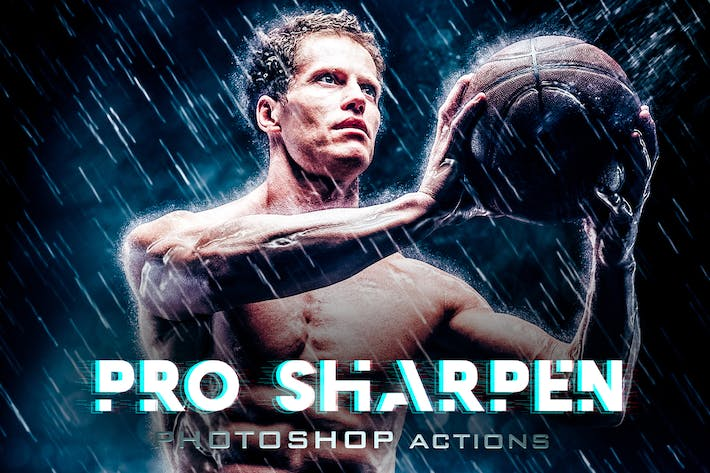 Sharpen Premium HDR Phototshop Acctions
