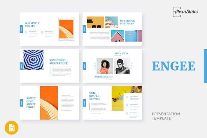 Thumbnail for Engee - Creative Google Slides Template