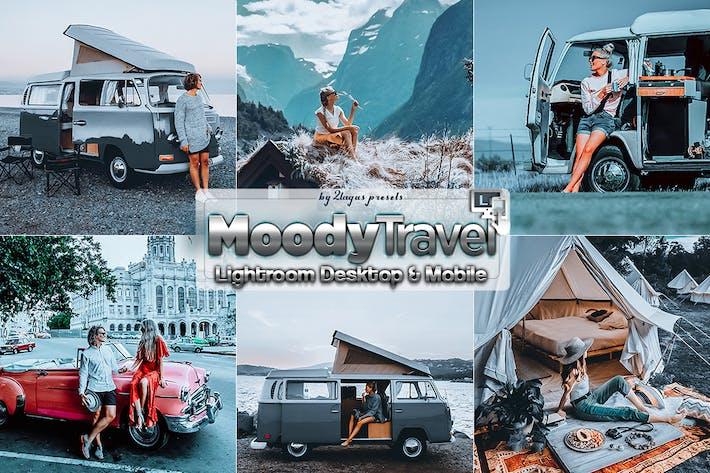 Thumbnail for Moody Travel Пресеты Lightroom мобильного рабочего стола