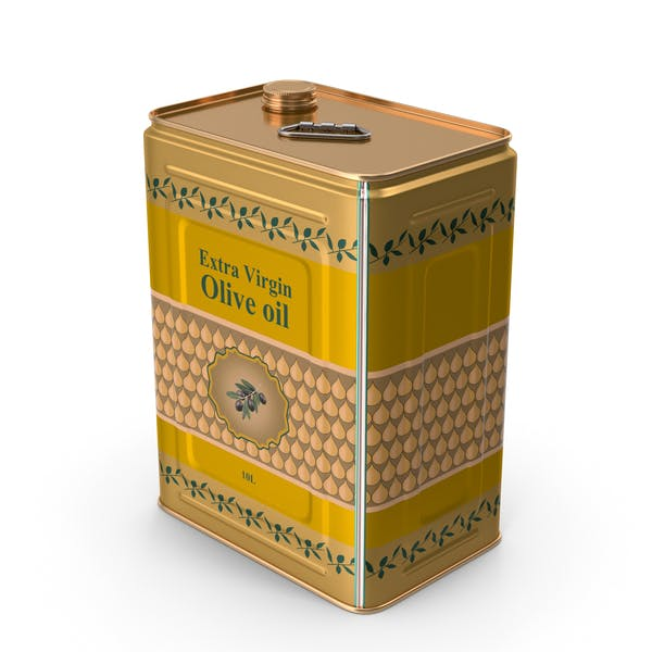 Olive Oil Tin Can 10L