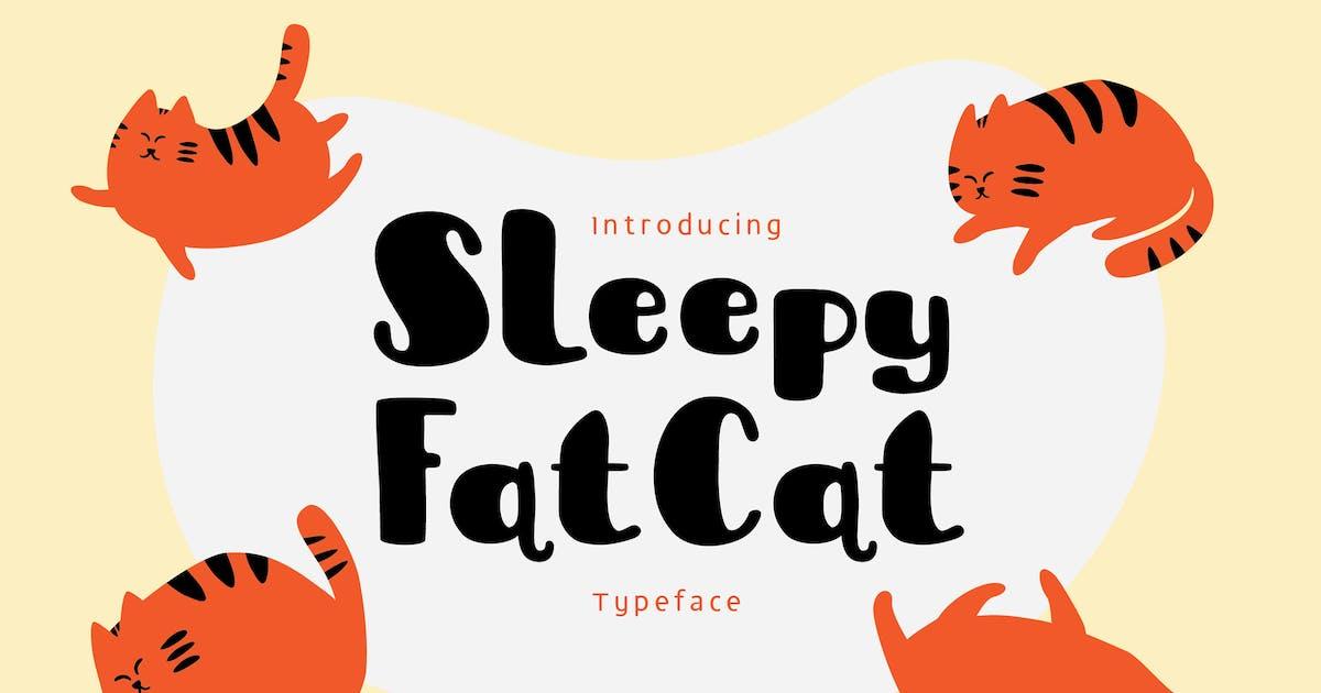 Download Sleepy Fat Cat by me55enjah
