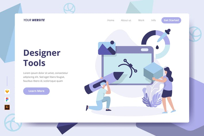 Designer Tools - Landing Page