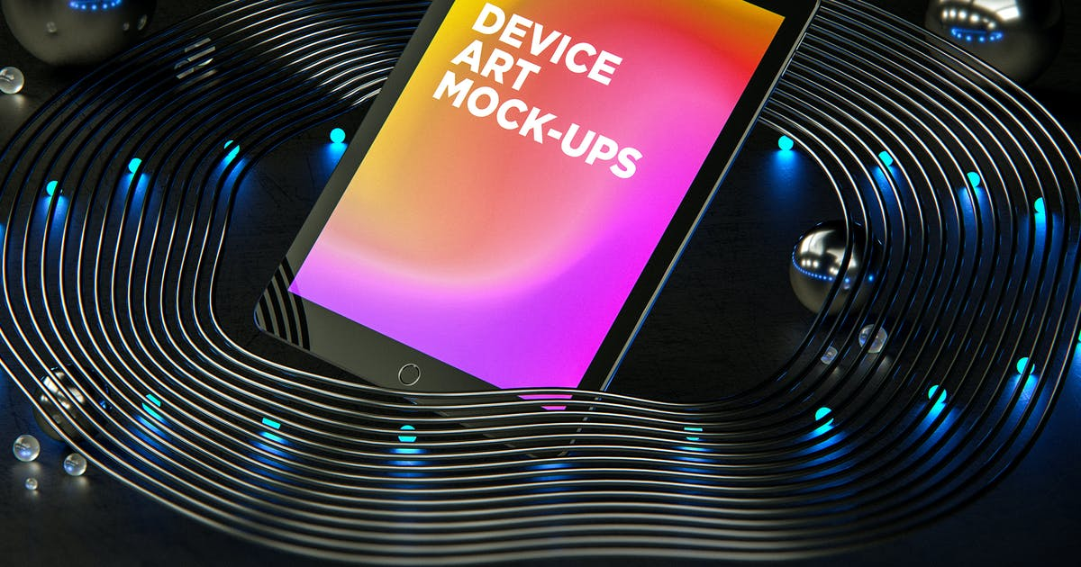 Download Device Art MockUp 015 by traint