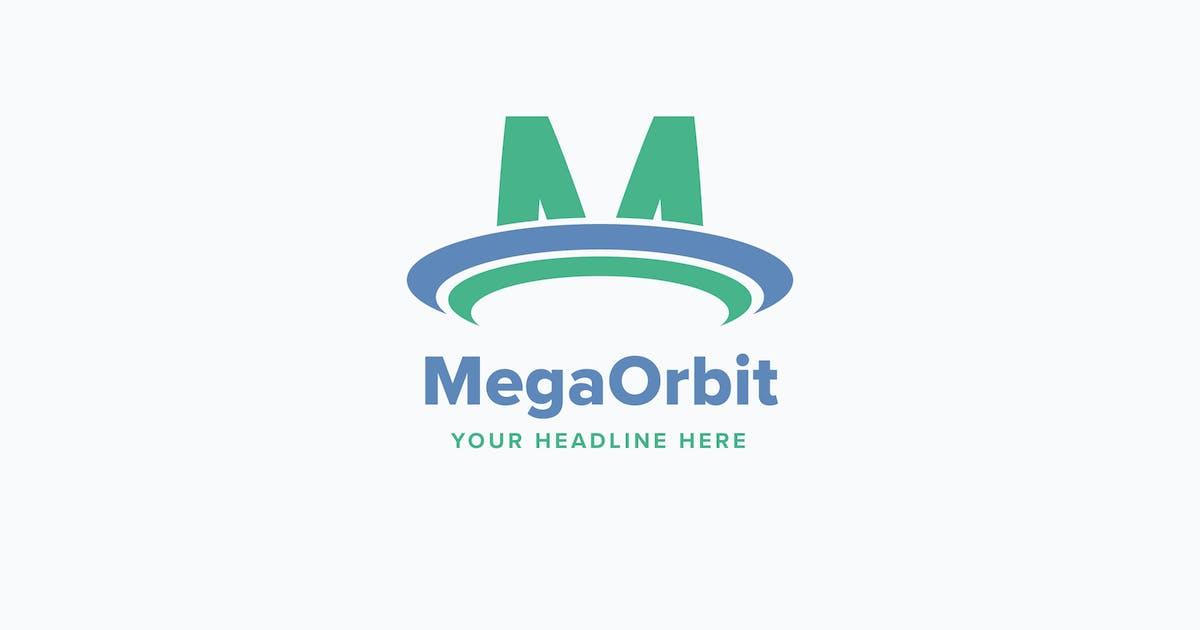 Download Mega Orbit M Letter Logo Template by Pixasquare