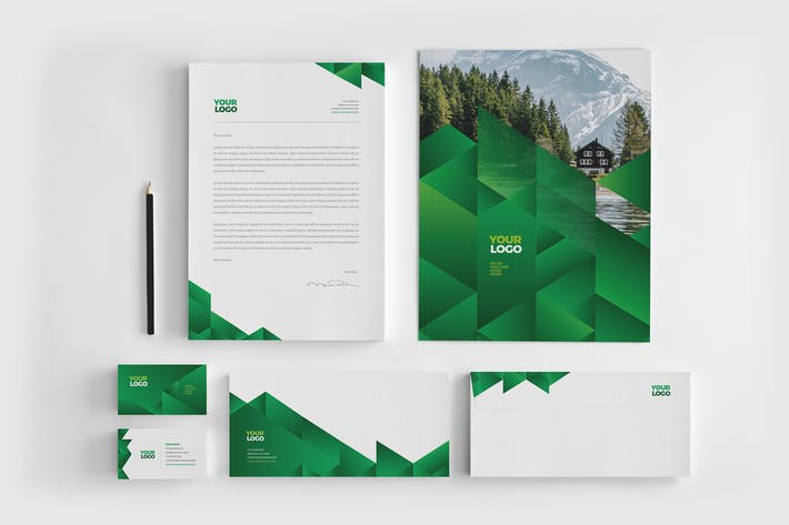 Thumbnail for Green Ecologic Stationery