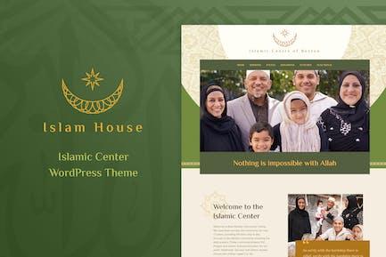 Islam House - Mosque and Religion WordPress Theme