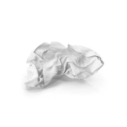 Zerknittertes Papier klar