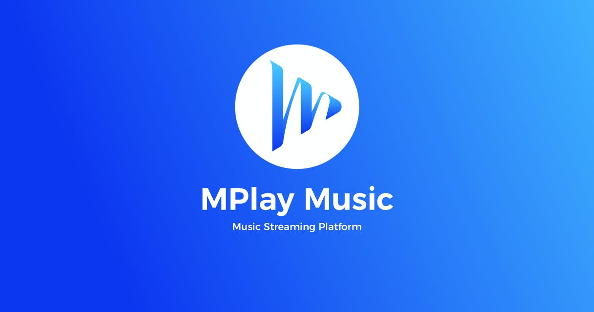 Download M Play Music logo by BNIMIT