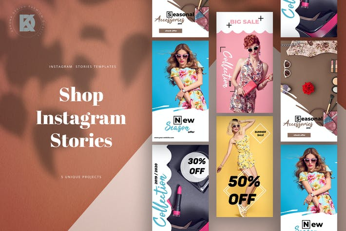 Thumbnail for Shop Instagram Banners