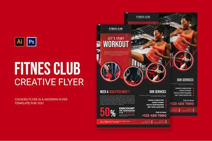 Fitness Club - Flyer