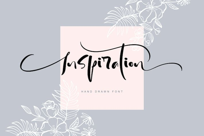 Thumbnail for Inspiration Hand Drawn Font
