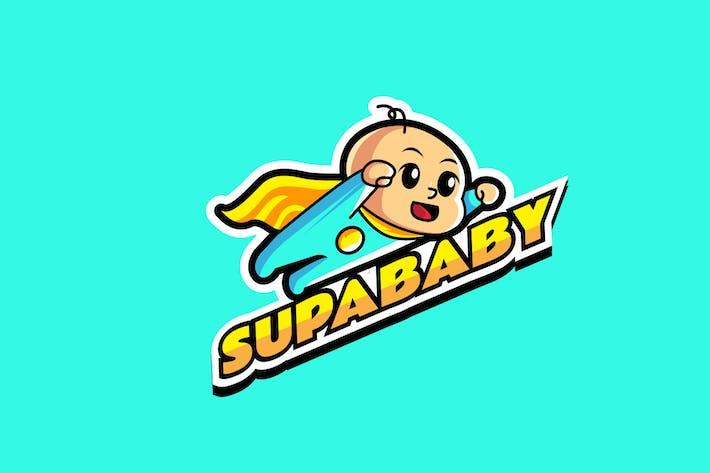 Thumbnail for super baby - Mascot Logo