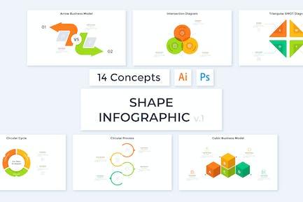 Shape Infographic v.1