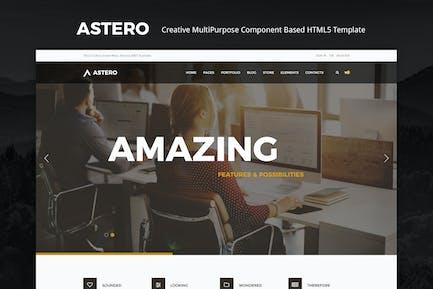 Astero | Creative MultiPurpose HTML Template