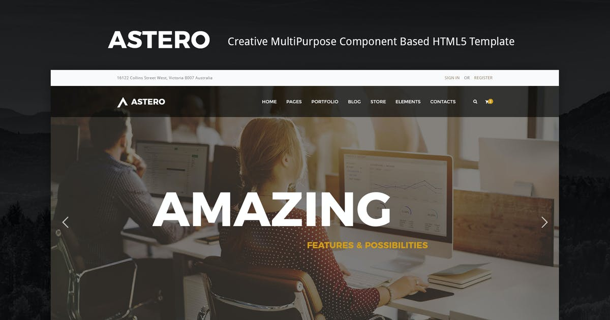 Download Astero | Creative MultiPurpose HTML Template by Theme-Squared