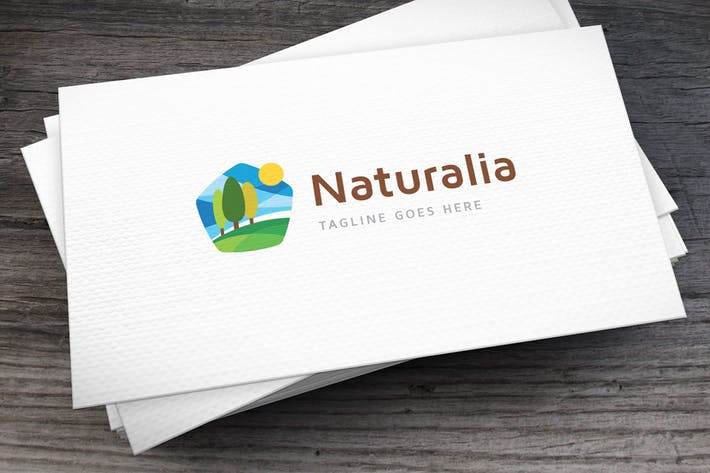 Cover Image For Naturalia Logo Template