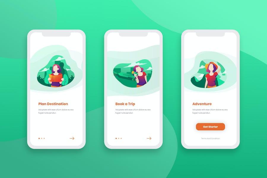 Onboarding Screens Mobile App