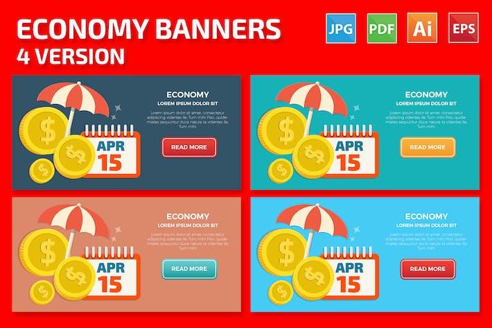 Thumbnail for Diseño de banners económicos