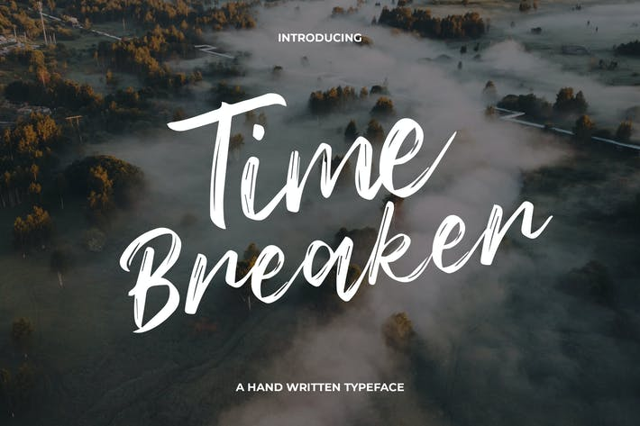 Cover Image For Time Breaker Typeface