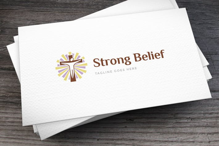 Thumbnail for Strong Belief Logo Template