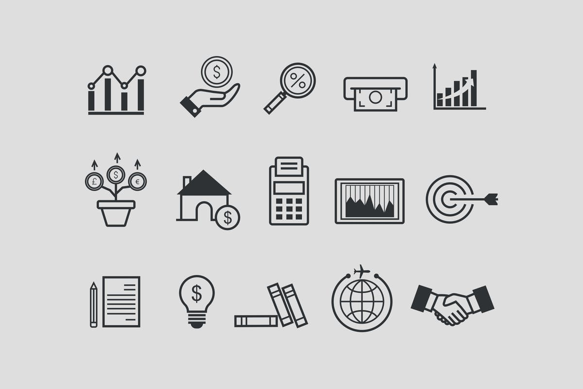 Download 15 Investment & Growth Icons by creativevip by Unknow