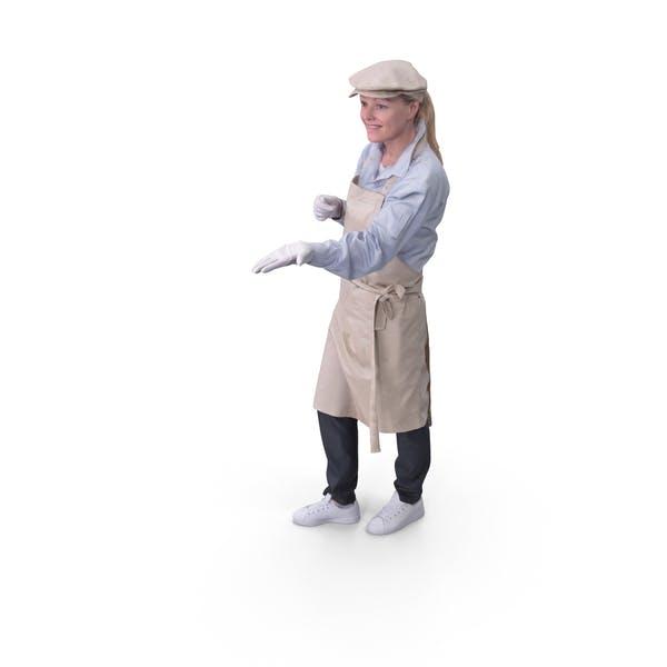 Arbeiterin Frau