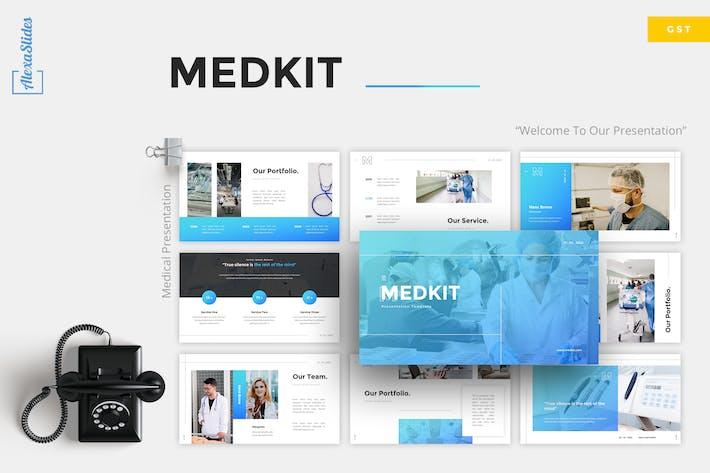 Thumbnail for Medkit - Medical Google Slides Template