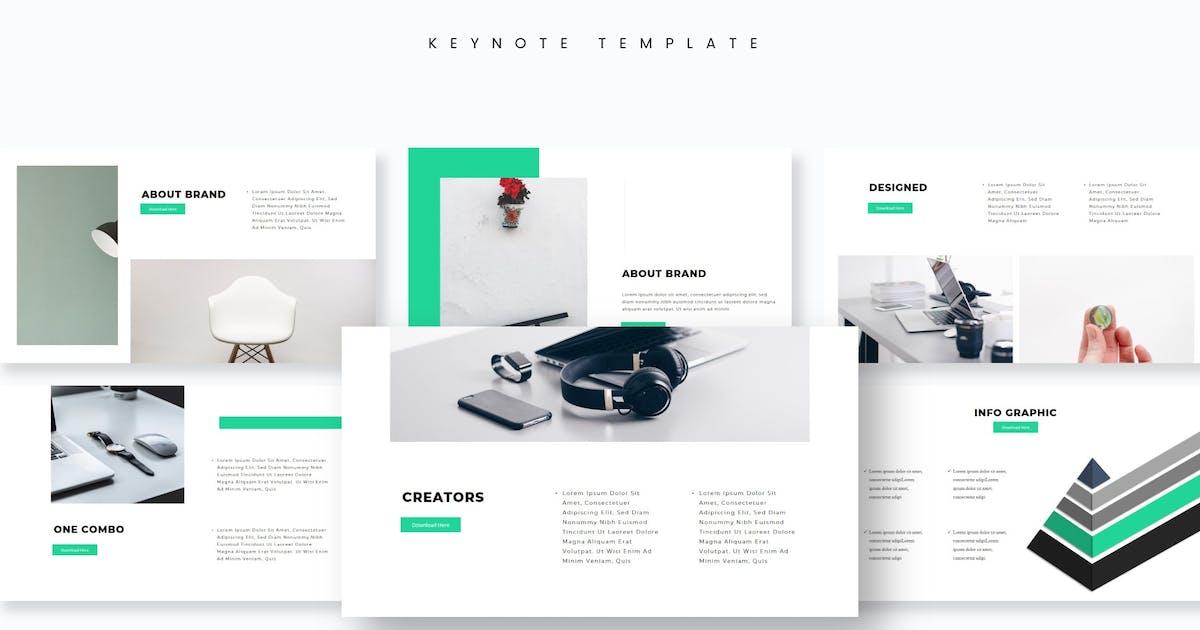Download Moniya - Keynote Template by aqrstudio