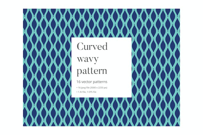 Thumbnail for Curved wavy pattern